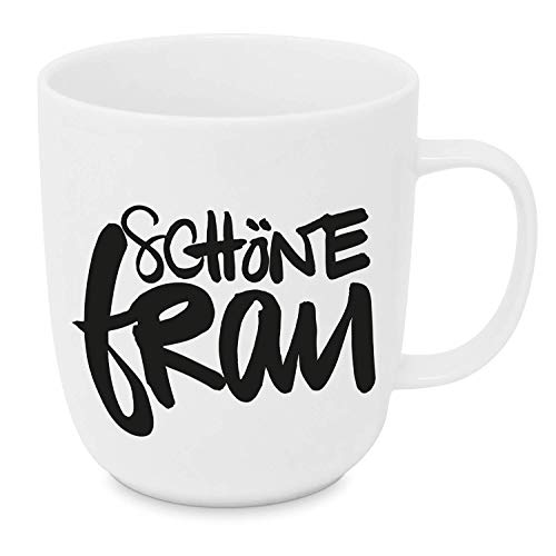 Baqu Hamburg Design Porzellantasse Tasse Henkelbecher Kaffee-Becher 350ml von Design@Home
