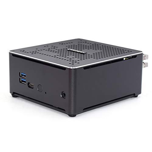Mini PC Windows 10 Pro, Intel Core i9 10980H Mini Computer 32 GB RAM DDR4 512G M.2 NVME SSD 2 TB Festplatte,Kleiner PC 2X LAN, HDMI 2.0, DP, Typ C, WI-FI 6 BT5.0 QIKEMALL