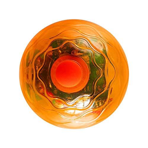 chifans Bola de juguete para gatos con luz LED, eléctrica, giratoria, 360...