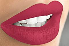 LIQUID MATTE LIPSTICK gives your lips a pop of color. With a wide range of shades you can choose your favorite colors. **Due to monitor settings, screen resolution and skin tone, colors may vary HIGHLY PIGMENTED liquid lipstick that goes on like a gl...