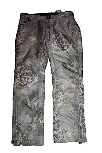 Bogner Nala Damen Ski Hose mit Gürtel Grau Braun Silber