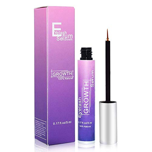 Eyelash Growth Serum,Eyebrow Growth Treatment Eyelash Serum,Booster Brow Serum,Lash Enhancer Irritation Free Formula for Longer Fuller Thicker Lashes