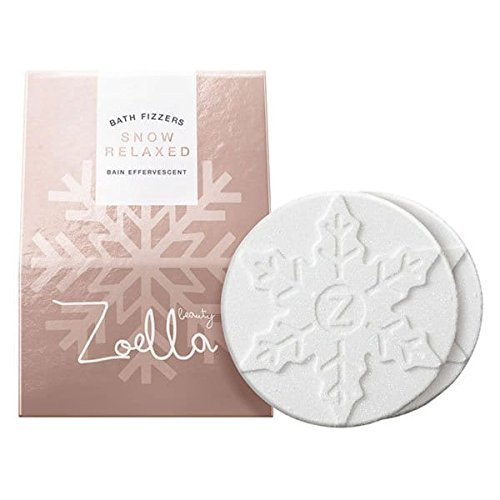 Zoella Beauty Snow Relaxed Bath Fizzers