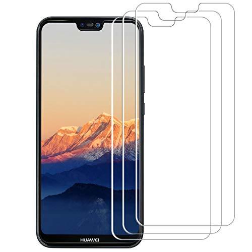 VICKSONGS Schutzfolie für Huawei P20 Lite,[3Stück] HD Klar Displayschutzfolie (Nicht Glas) Soft Displayschutz [Anti-Bläschen] [Anti-Fingerabdruck] Displayfolie Folie für Huawei P20 Lite