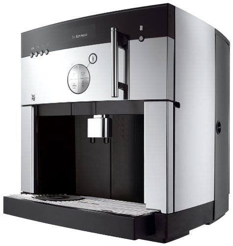 WMF 1000 pro S Barista - Cafetera (Independiente, Negro, Acero inoxidable, LCD, Granos de café, Café con leche, Capuchino,...
