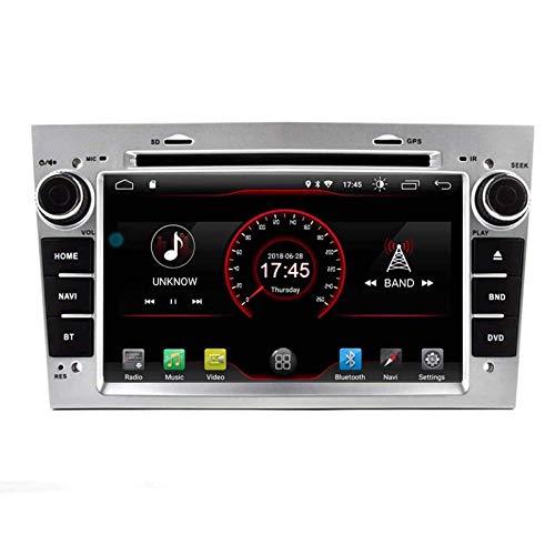 FWZJ Autosion Android 10 Car DVD GPS Car Radio Navi System Stereo para 2004 2005 2006 2007 2008 2009 Opel Vauxhall Antana Astra Combo Corsa Meriva Tigra Vectra Vivaro Zafira Control del Volante B