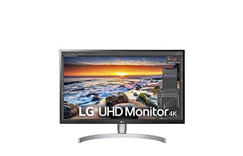 LG 27UK850-W 68,58 cm (27 Zoll) UHD 4K IPS Monitor (AMD Radeon FreeSync, HDR10, 99{e9db9a1d1f1aba126641b71fa88f93f5d6481fca7839825d0830fc56f4b555c7}sRGB), weiß