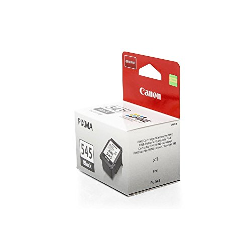 Original Canon 8287B001 / PG-545BK Tinte (schwarz, ca. 180 Seiten, Inhalt 8 ml) für Pixma IP 2850, MG 2450, MG 2455, MG 2550, MG 2555, MG 2950, MX 495