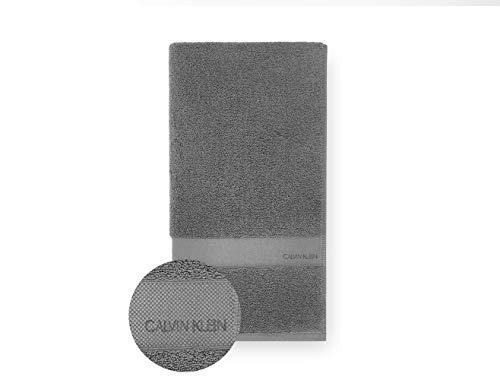Calvin Klein Tracy Toalla de Mano, Cotton, Charcoal, 81x46 cm ✅