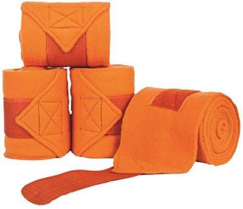 HKM Polarfleecebandagen, orange, 200 cm
