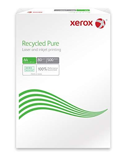 Xerox 003r98104Recycled Pure ambiente/carta inkjet, DIN A4, 80G/M², 500fogli, colore: bianco