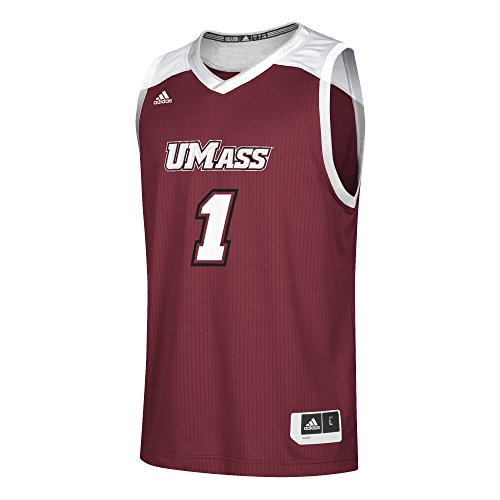 adidas Replica - Camiseta de Baloncesto para Hombre, NCAA, Camiseta de Baloncesto réplica, Hombre, Color borgoña, tamaño XL