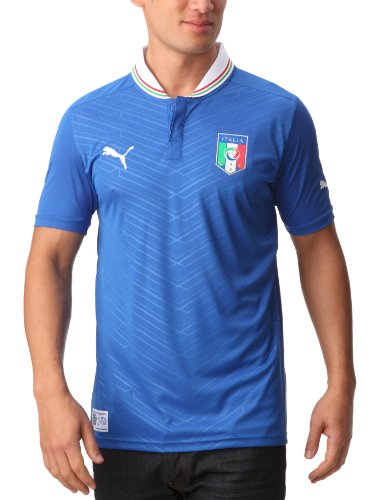 PUMA Herren Fußballtrikot Italia Home Replica, Team Power Blue, L, 740355 01
