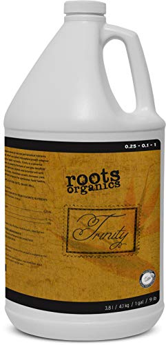 Roots Organics Trinity, Organic Plant & Rhizosphere Growth Enhancer.25-.1-1 NPK, 1 Gallon