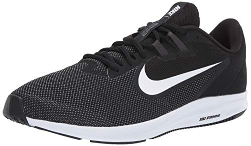 small Nike Downshifter 9 Men's Sneakers, Black / White-Anthracite-Cold Gray, 10 US Standard Size