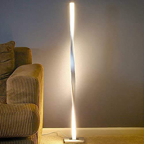 yywl Lámparas de pie Lámpara de pie LED LED de Planta de Esquina de la Esquina de pie. Decoración hogareña