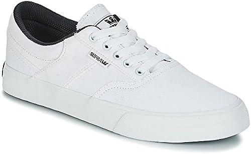 Supra Men& 039;s Cobalt schuhe,13,Weiß Weiß f0357ldsl24812