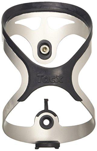 Tacx Flaschenhalter TAO, Silber, One Size