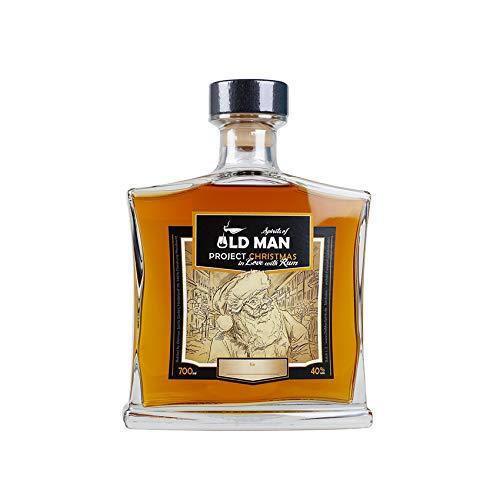 Project Christmas - Premium Rum aus der Karibik (deutsche Abfüllung), 40{dc74fdd20cbdcc6068aeec7d8bb0e8e1e3aace4a1c605fbe5b9ed245c03d3ccd} vol, Flasche 700ml - Spirits of OLD MAN - Project Christmas