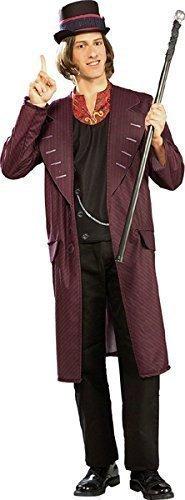 Rubbies - Disfraz de Willy Wonka para hombre, talla única (880313STD)