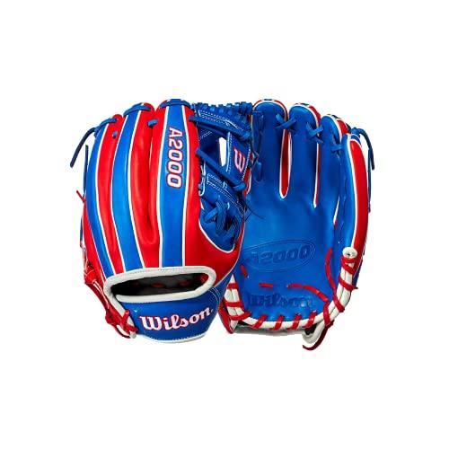 Wilson 2021 Dominican Republic Flag A2000 Country Pride Glove
