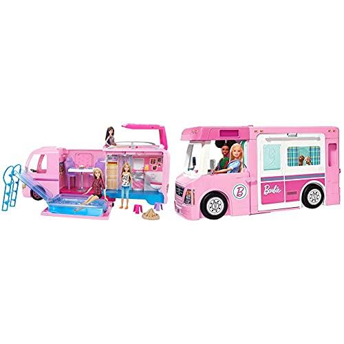 Barbie FBR34 - Super Abenteuer Camper,...