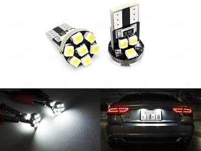 LEDIN safety T10 168 194 2825 Xenon White 360 LED Now free shipping degree Re Bulb SMD 13