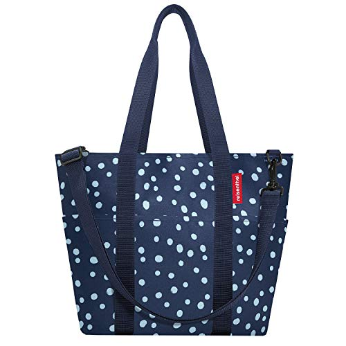 reisenthel multibag Schultertasche Umhängetasche Damen Spots Navy Polyester 15 L