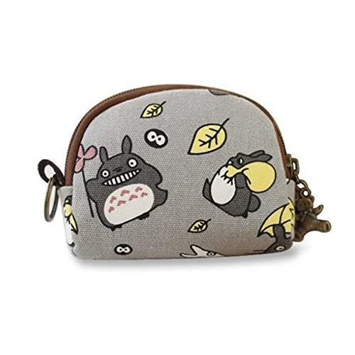 My Neighbor Totoro Coin Purse Pouch Bag Small Coin Purse for Women Cute Coin Change Pouch for Girl Anime Cash Bag