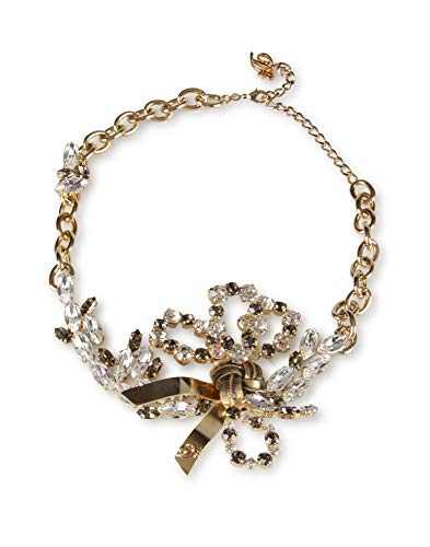 DSQUARED D NECKLACE SWAROSKY @1400-ROSA-UNICA