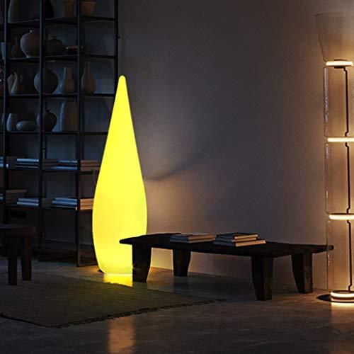 Lámparas de Pie de Atmósfera Minimalista, Luz LED de Pie con Control Remoto Lámpara de Humor Que Cambia de Color RGB, Impermeable y Recargable, para Sala de Estar, Salón (Size : 120cm/47.2in)