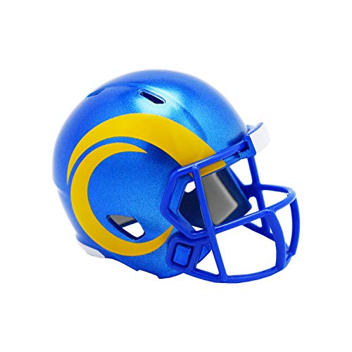 Riddell Speed Pocket Football Helm - Los Angeles Rams 2020