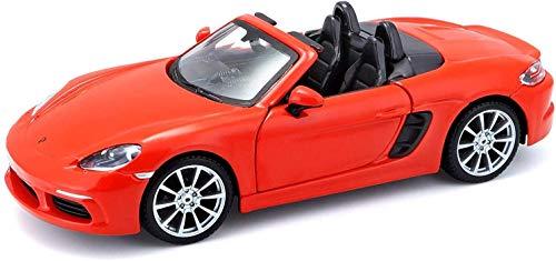 Bburago Porsche Boxter 718 Scala 1/24 Modellismo Auto, Multicolore, 4893993210879