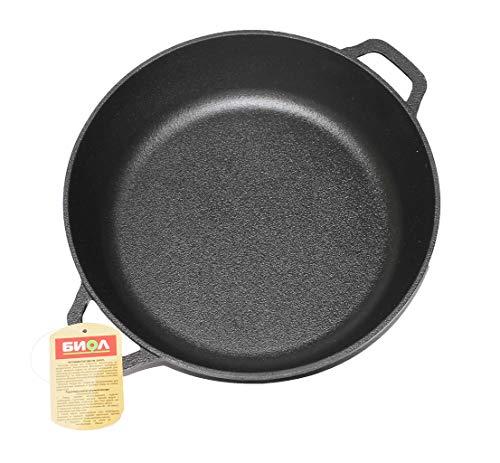 Cast Iron Frying Pan/Skillet 26, 28 cm BIOL (28 cm)