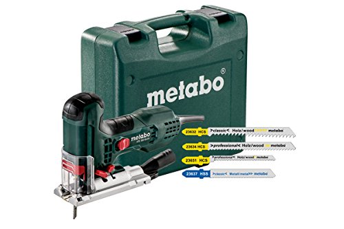 Metabo STE 100 QUICK SET Decoupeerzaag incl. 20 decoupeerzaagbladen in koffer - 710W - T-greep - variabel