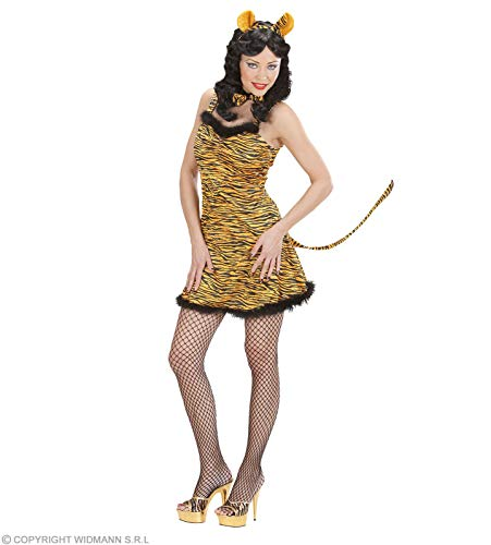Dames Tijger Kostuum Medium UK 10-12 voor Animal Jungle Farm Fancy Dress