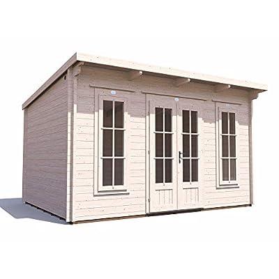 Garden Log Cabin Summerhouse 4m x 3m