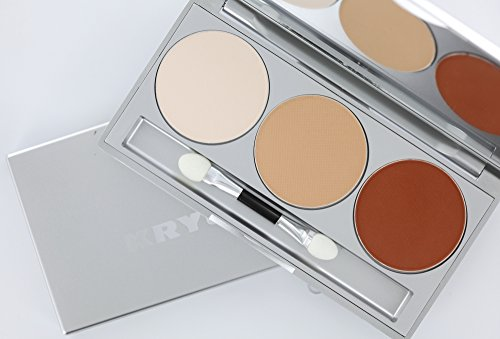 Kryolan Eye Shadow Trio-Set Dunes