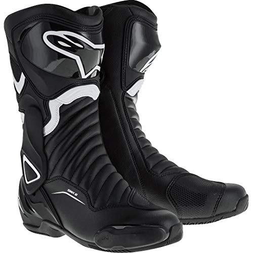 Alpinestars Bottes moto Stella Smx-6 V2 Black White, Noir/Blanc, 38
