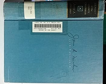 Hardcover Report of the County Chairman.  NY,1961.  a fine first edition. Book