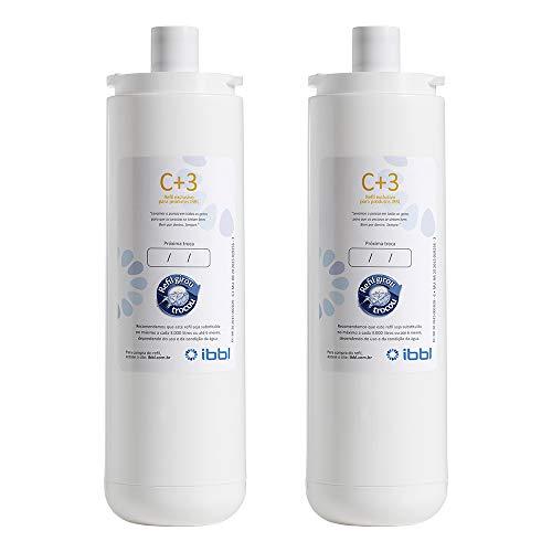 Conjunto Filtro IBBL C+3 para Purificador de Água (2 unidades)