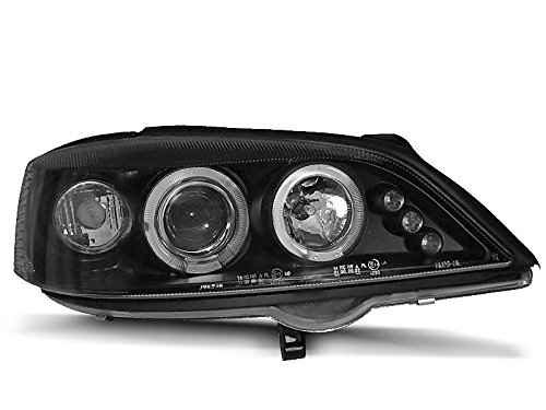 Koplamp Astra G 98-04 Angel Eyes zwart (P18)