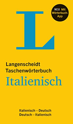 Langenscheidt Taschenwörterbuch Italienisch: Italienisch-Deutsch/Deutsch-Italienisch mit App
