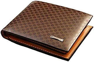 Pidengbao Wallet for Men - Leather, Brown