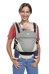 Porte-bébé manduca XT Cotton/grey-ocean/All-In-One Porte-bébé pour nouveau-né, siège réglable, 3 positions civière, coton biologique, pour bébés de 3,5 à 20 kg (gris-turquoise)