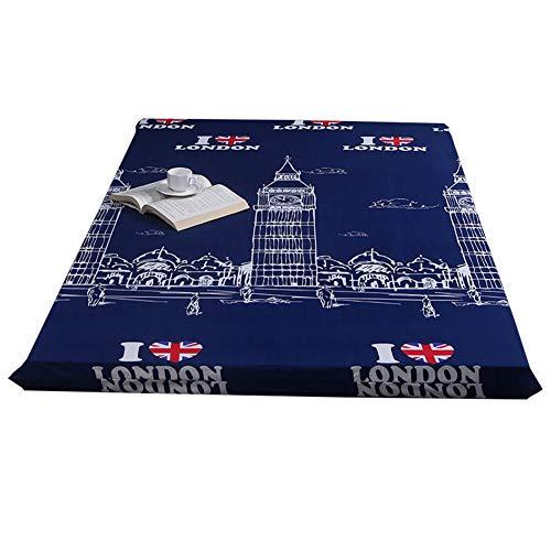 WYJHNL matrasbeschermer met rits Premium lakens, matrasbeschermer voor matras, 2-8cm diep Tatami-matras, Futon matras, vloermatras