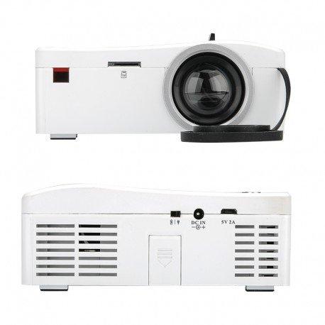 UNIC UC18 Mini LCD proyector - 320 x 180, 48 lúmenes, Control ...