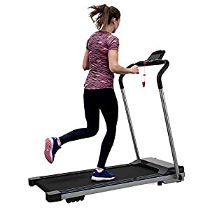 FYC Folding Treadmill for Home Electric Workout Foldable Running Machine Portable Compact Motorized Treadmills for…