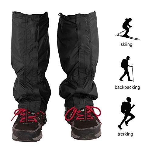 Leggings d'extérieur unisexe imperméables pour la randonnée, le ski de neige, l'escalade, la marche (1 paire)