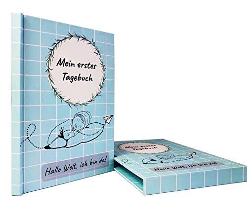 Eassylife Babytagebuch Die Geschichte beginnt hier: Ein Erinnerungsbuch und wunderschönes Geschenk zur Geburt
